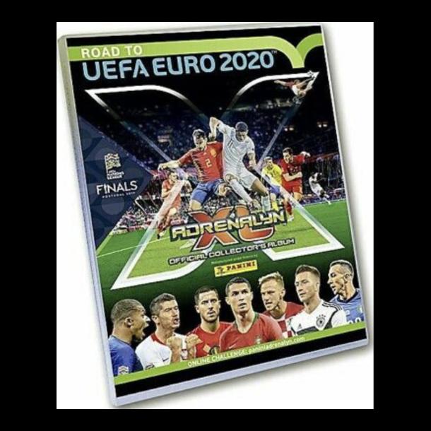Fodbold kort mappe med kort UEFA Euro 2020